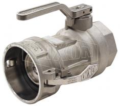 Can and Groove Dry Break Coupling